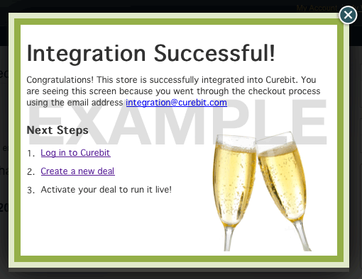 Integration success